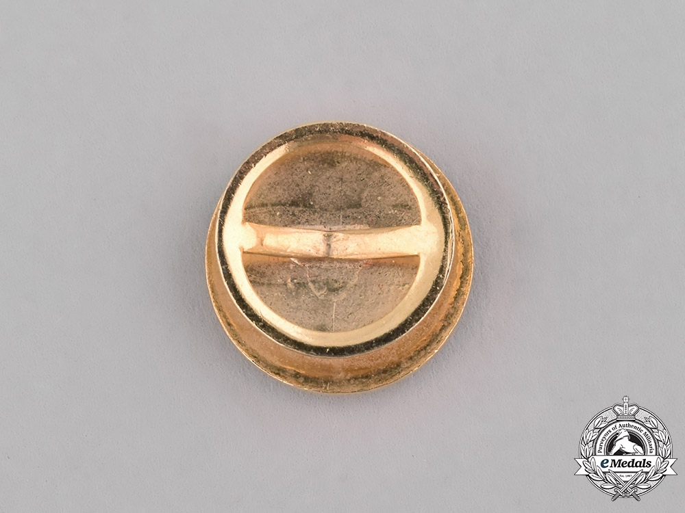 Spain, Franco's Period. A Miniature Medal of the Sufferings for the Homeland, Wounded c.1950