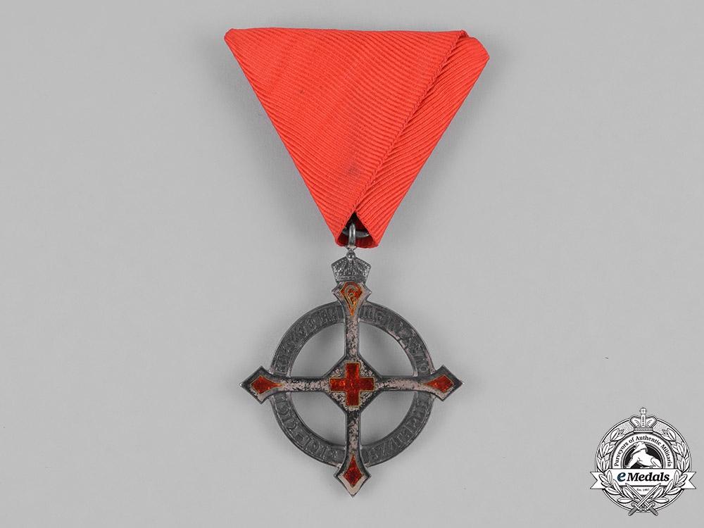 Bulgaria, Kingdom. A Red Cross Queen Eleonore Cross 1912-1913