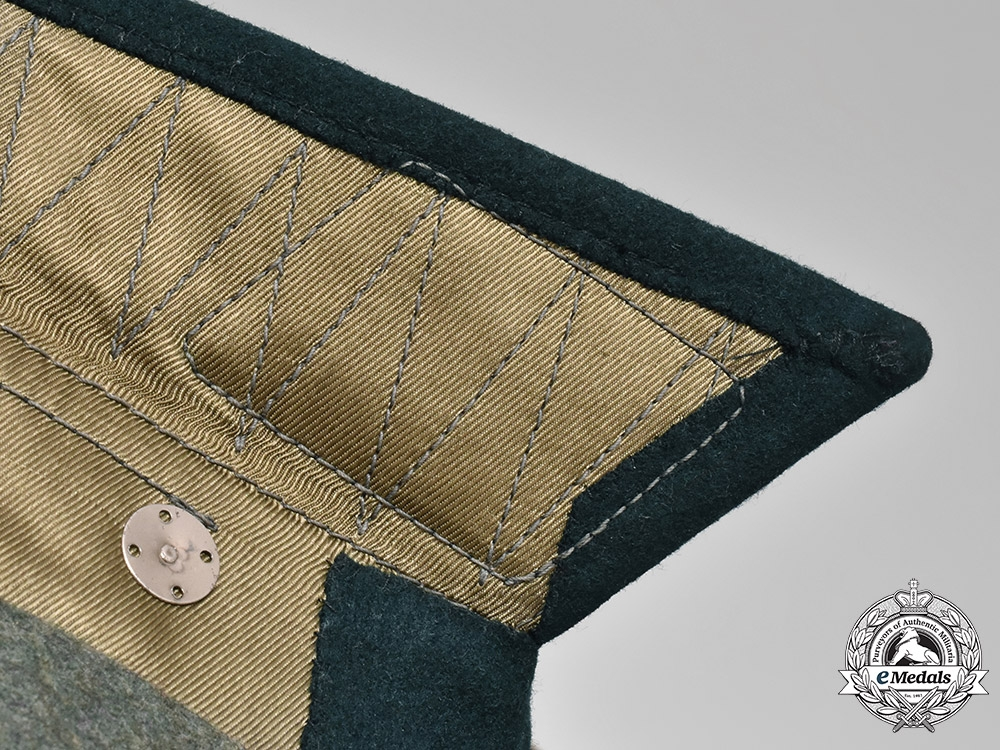 Germany, SS. A Waffen-SS Infantry Obersturmführer's Dress Tunic