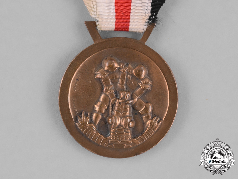 Italy, Kingdom. A 1943 Italo-German Campaign Medal for Africa by Lorioli