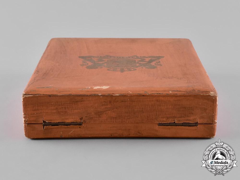 Netherlands, Kingdom. An Order of Orange-Nassau, Commander's Case, by Roelof Citroen