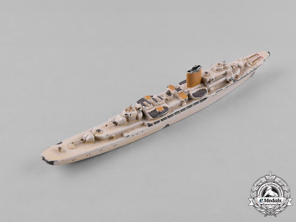 Germany, Kriegsmarine. A Toy Model of AH's Aviso Grille by Wiking-Modell