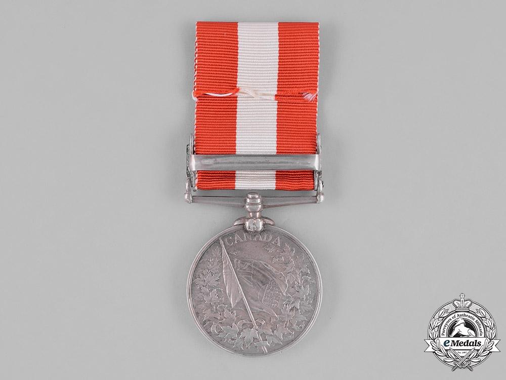 United Kingdom. A Canada General Service Medal, Kincardine Infantry Company