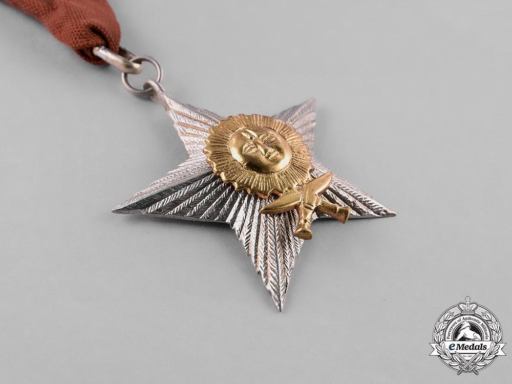 Nepal, Federal Democratic Republic. A Most Puissant Order of the Gorkha Dakshina Bahu, IV Class