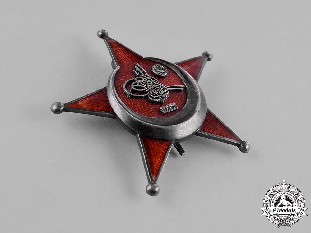 Turkey, Ottoman Empire. A First War Turkish War Medal (AKA Galipoli Star)