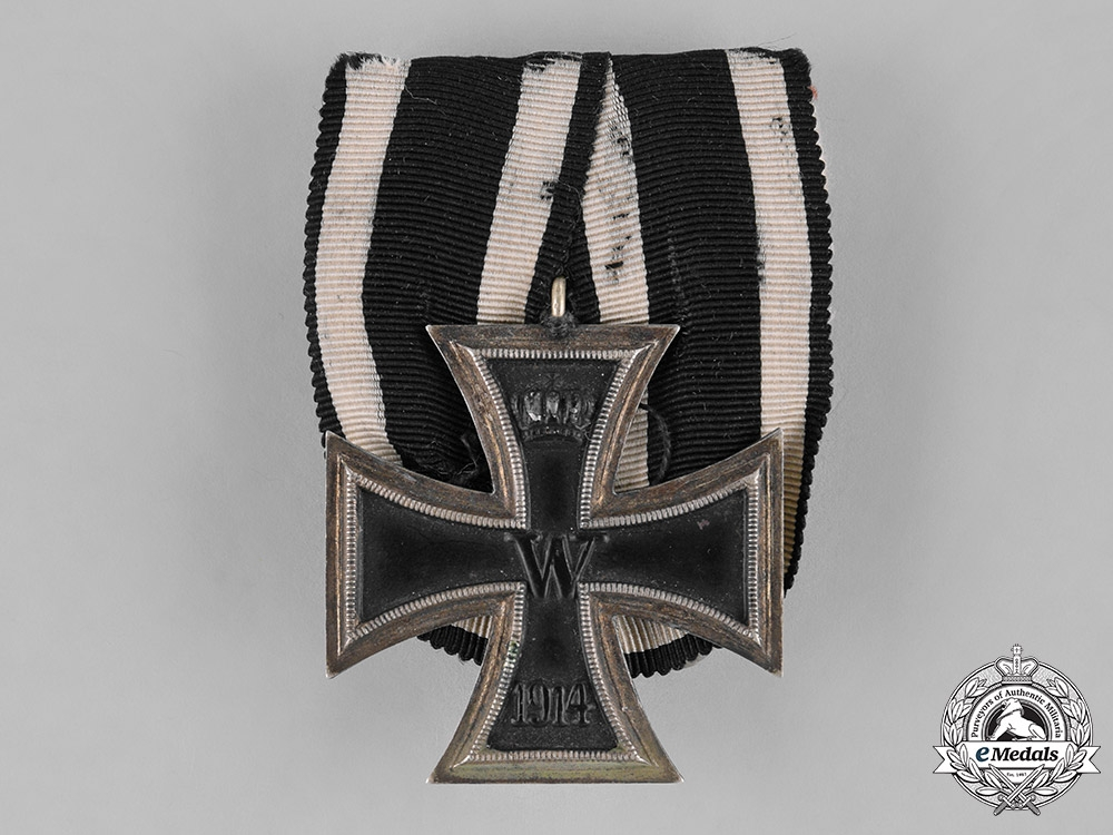 Germany, Imperial. An Iron Cross, II Class, Parade Mounted