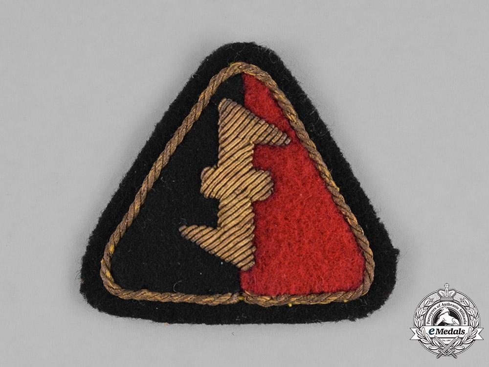Netherlands, NSB. A Third Reich Period Dutch NSB Sleeve Patch