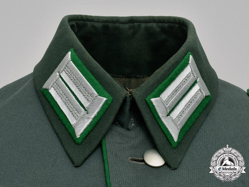 Germany, Heer. A Gebirgsjäger (Mountain Troops) Officer's Dress Tunic