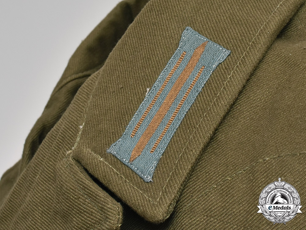 Germany, Heer. An Army M43 Tropical Artillery Enlisted Man's Tunic