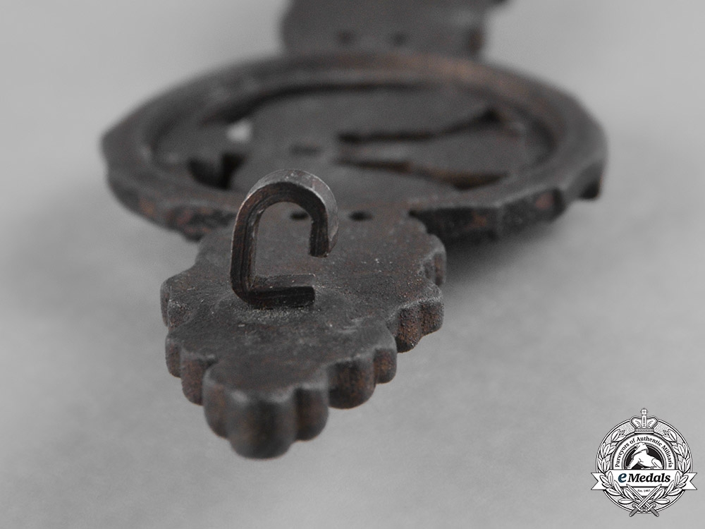 Germany, Luftwaffe. A Short Range Night Fighter Clasp, Bronze Grade