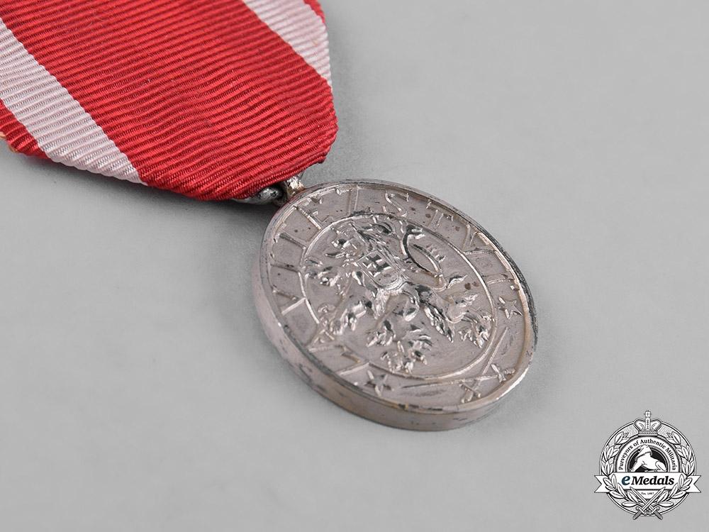Czechoslovakia, Republic. An Order of the White Lion, II Class Medal, by Karnet