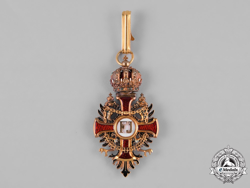 Austria, Empire. An Order of Franz Joseph in Gold, Commander Cross, by Vincent Mayer's Söhne, c.1900