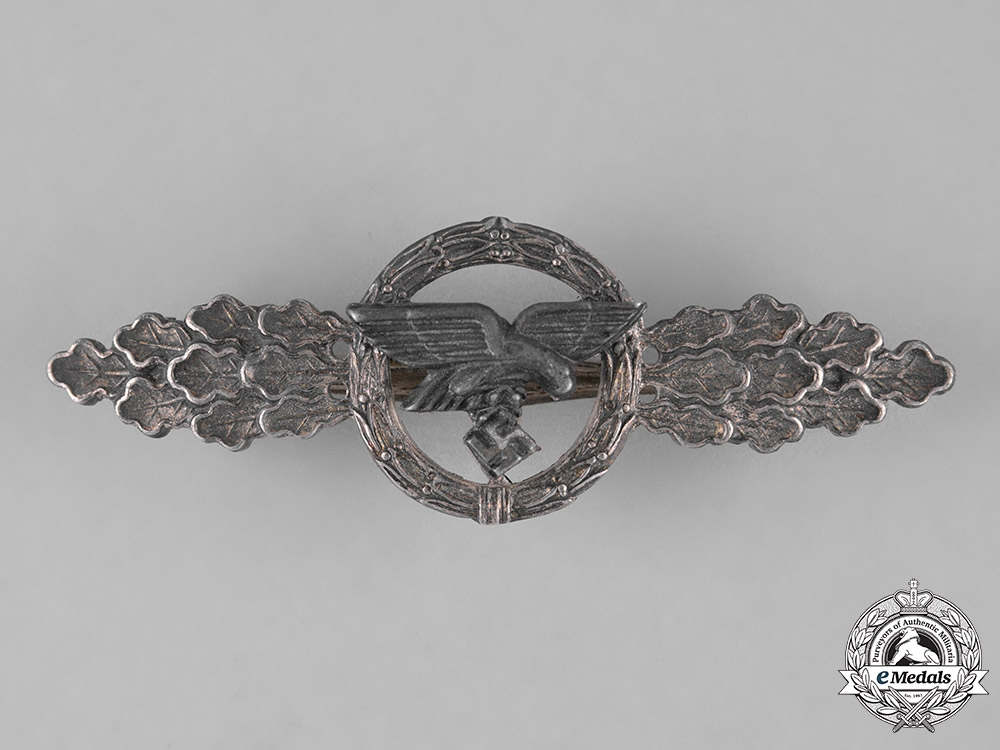 Germany, Luftwaffe. A Luftwaffe Front Flying Clasp for Transport Pilots, Silver Grade
