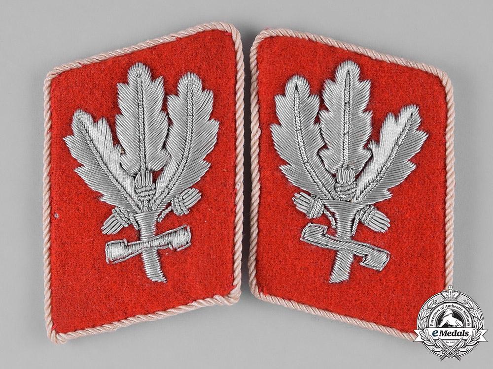 Germany, SA. A Pair of RZM-Marked Sturmabteilung (SA) Hauptampt Brigadeführer Collar Tabs