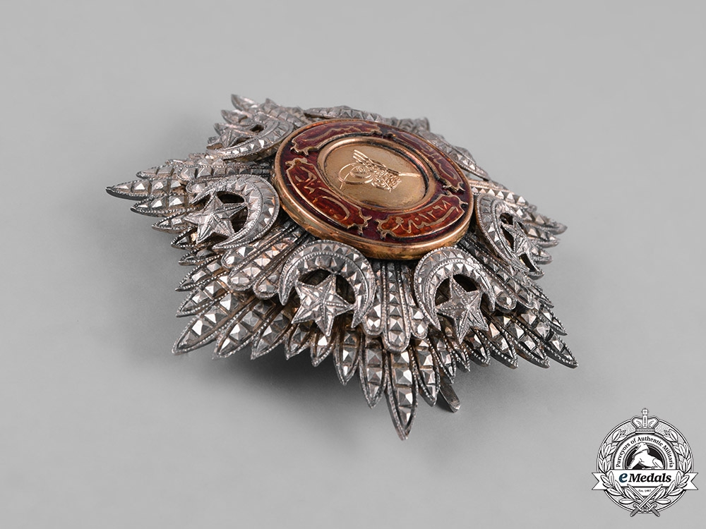 Turkey, Ottoman Empire. An Order of Medjidie (Mecidiye), II Class Star, c.1918