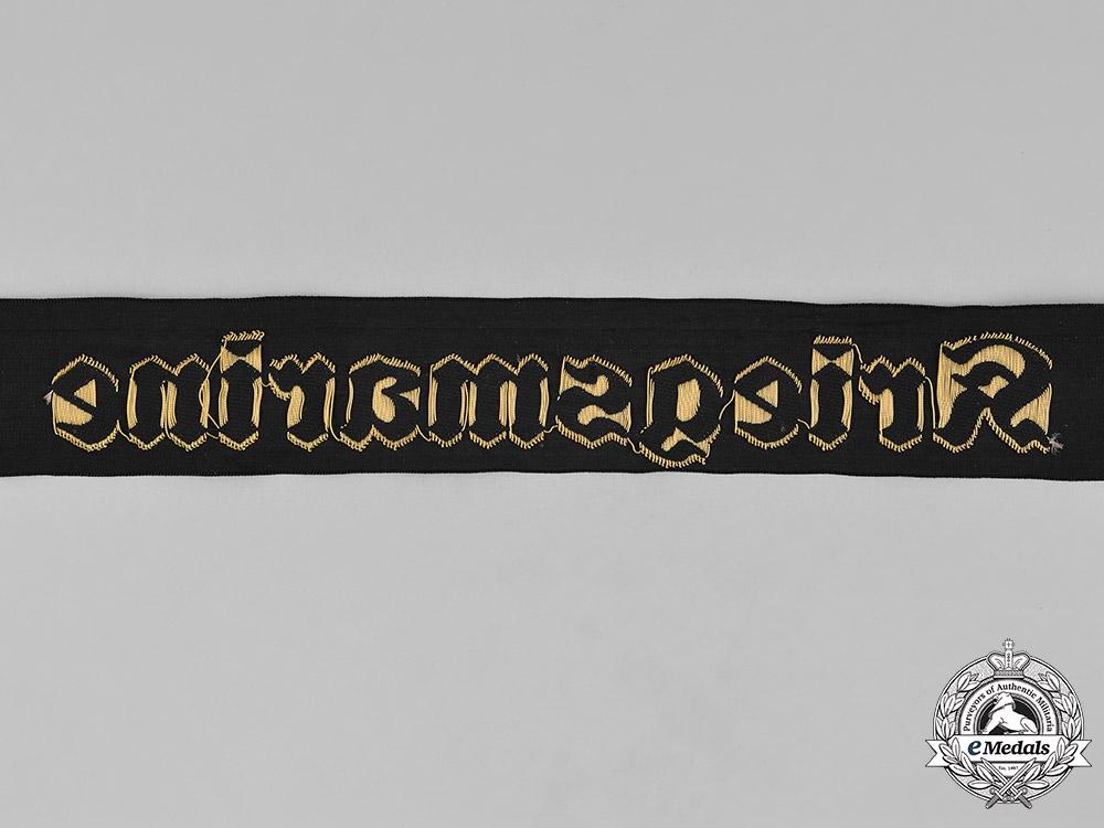 Germany, Kriegsmarine. A Kriegsmarine Cap Ribbon