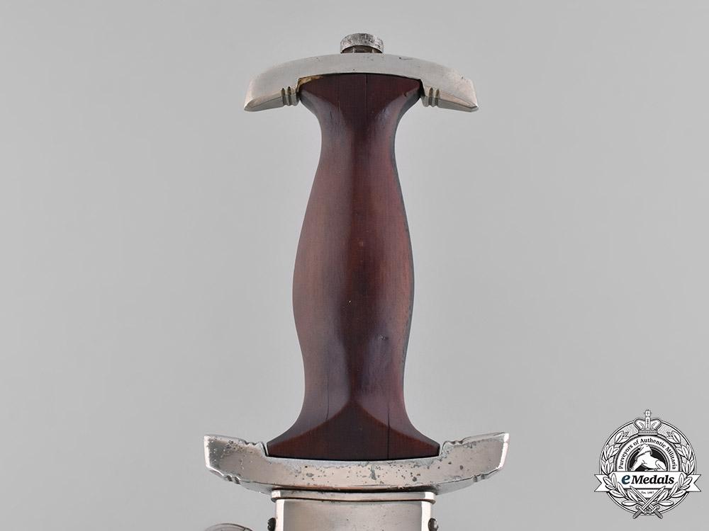 Germany, SA. A Model 1933 Dagger, by F.W. Holler