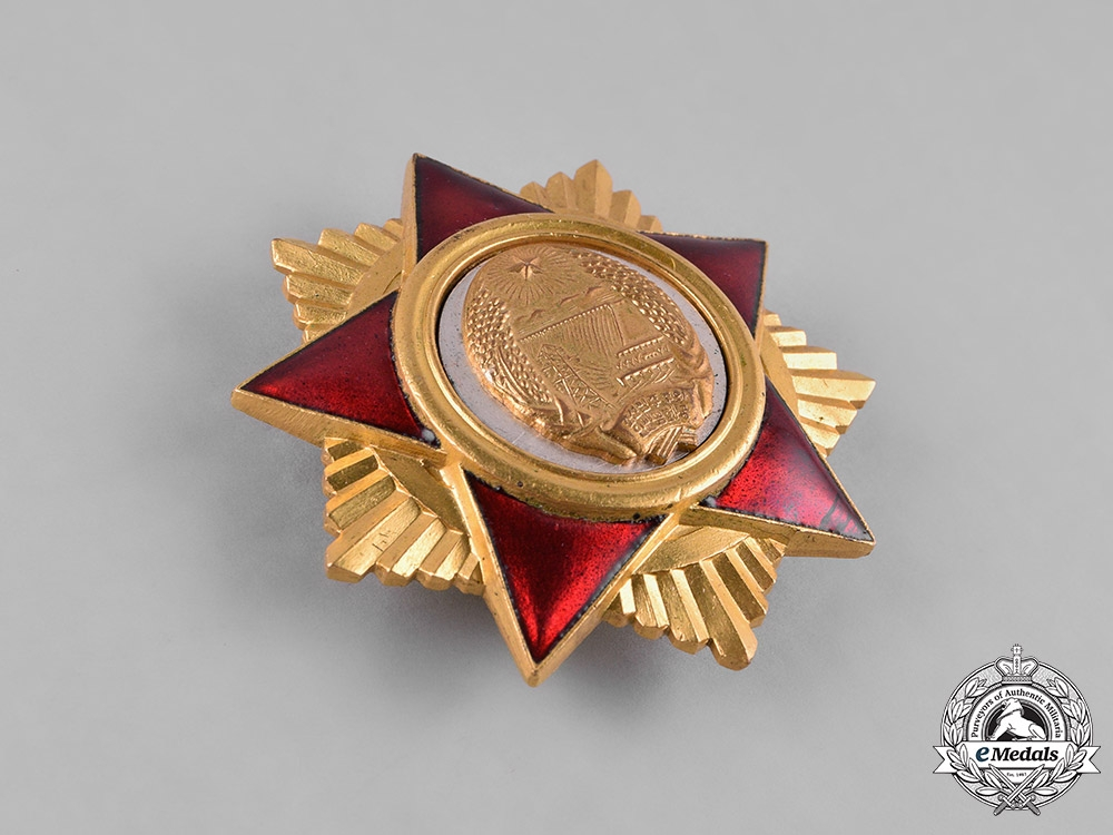 Korea, Democratic People's Republic. An Order of the Foundation of the People's Army