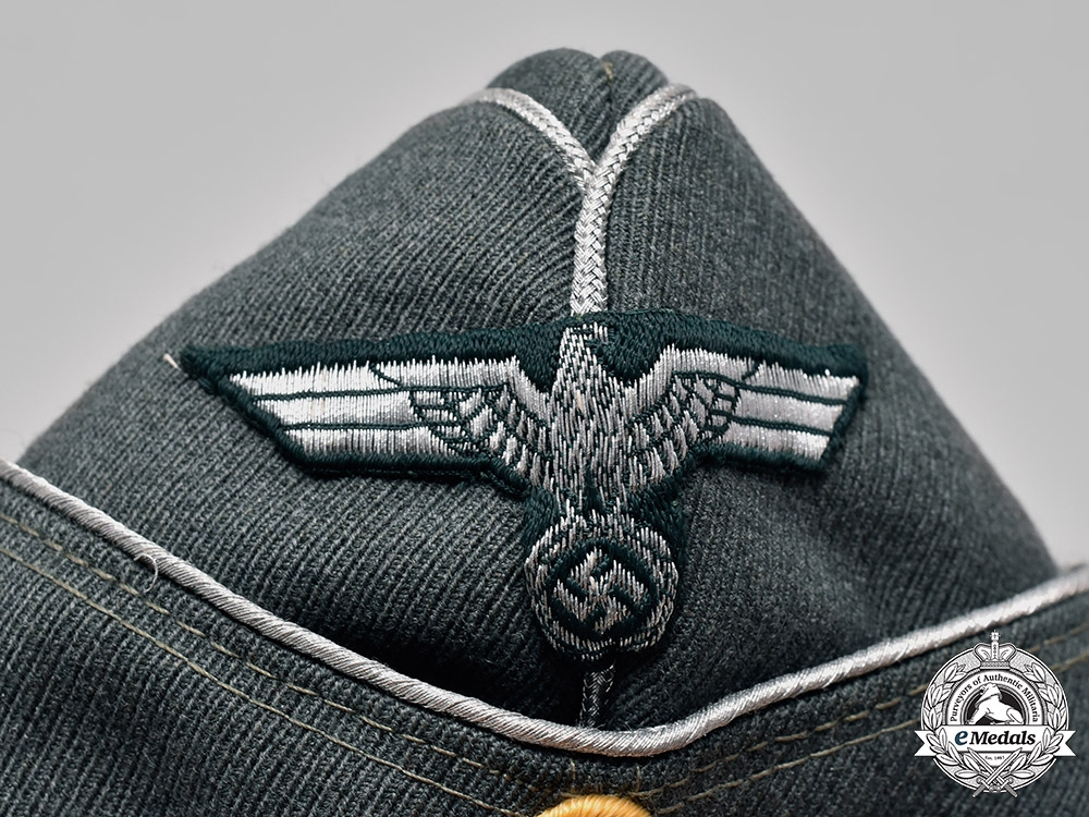 Germany, Heer. An Army Cavalry Officer's M1938 Field Cap