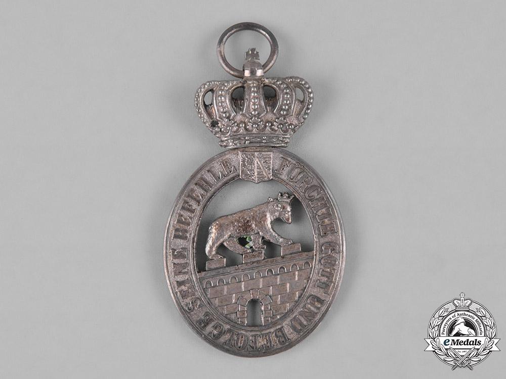 Anhalt, Duchy. An Order of Albert the Bear, II Class Knight with Crown, c.1910