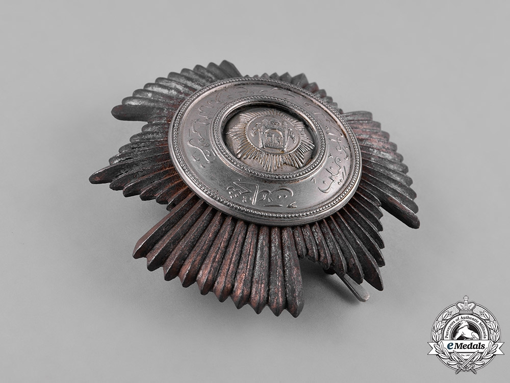 Afghanistan, Kingdom. An Order of Bravery, Commander's Star, c.1926