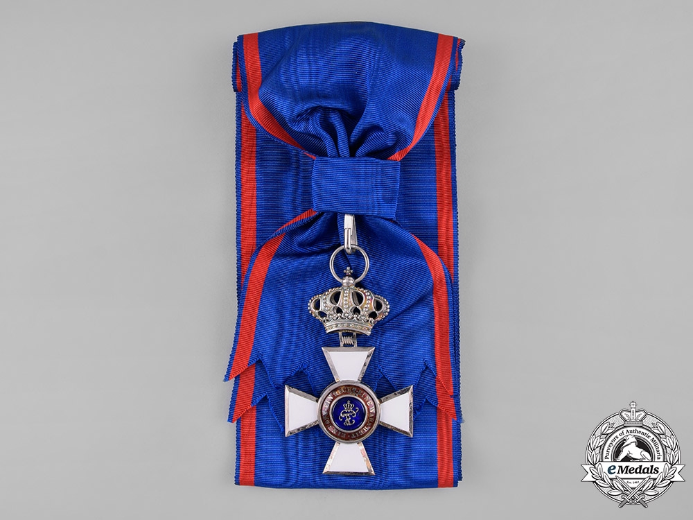 Oldenburg, Grand Duchy. A House & Merit Order of Peter Frederick Louis, Grand Cross, by Knauer, c.1910