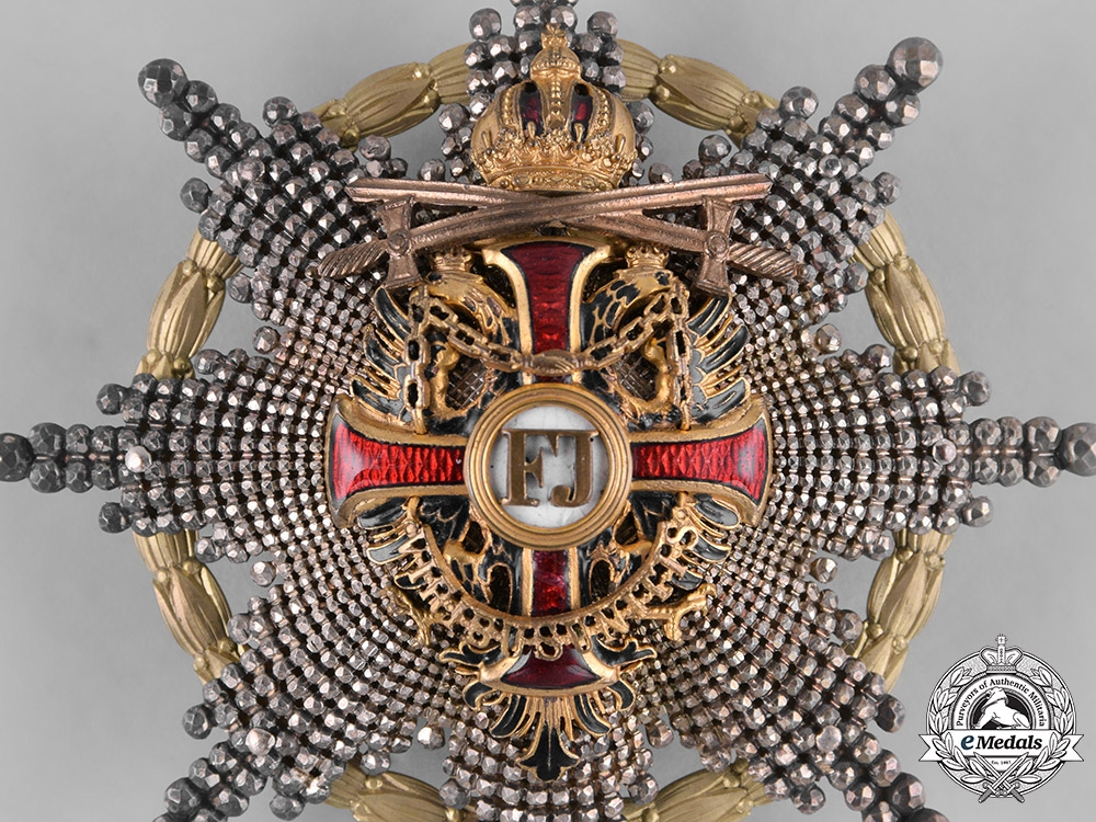 Austria, Imperial. An Order of Franz Joseph, Commander with War Decoration & Swords, by V. Mayer, c.1915