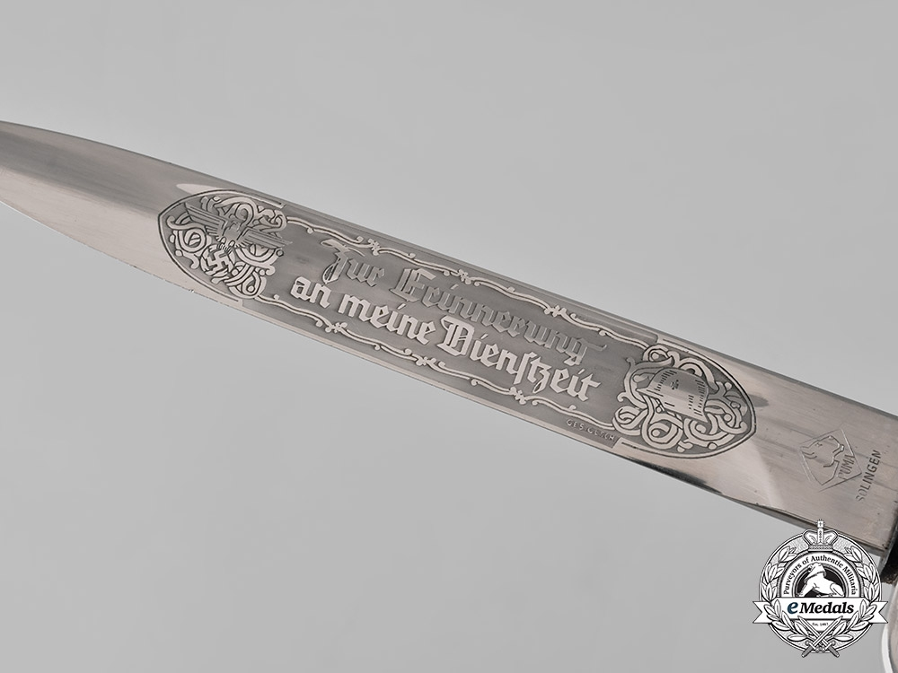 Germany, Heer. An Etched Bayonet, by Puma
