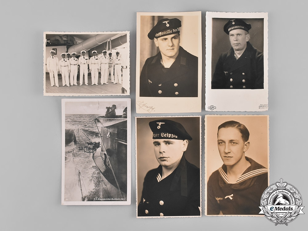 Germany, Kriegsmarine. A Collection of German Navy Postcards and Photographs