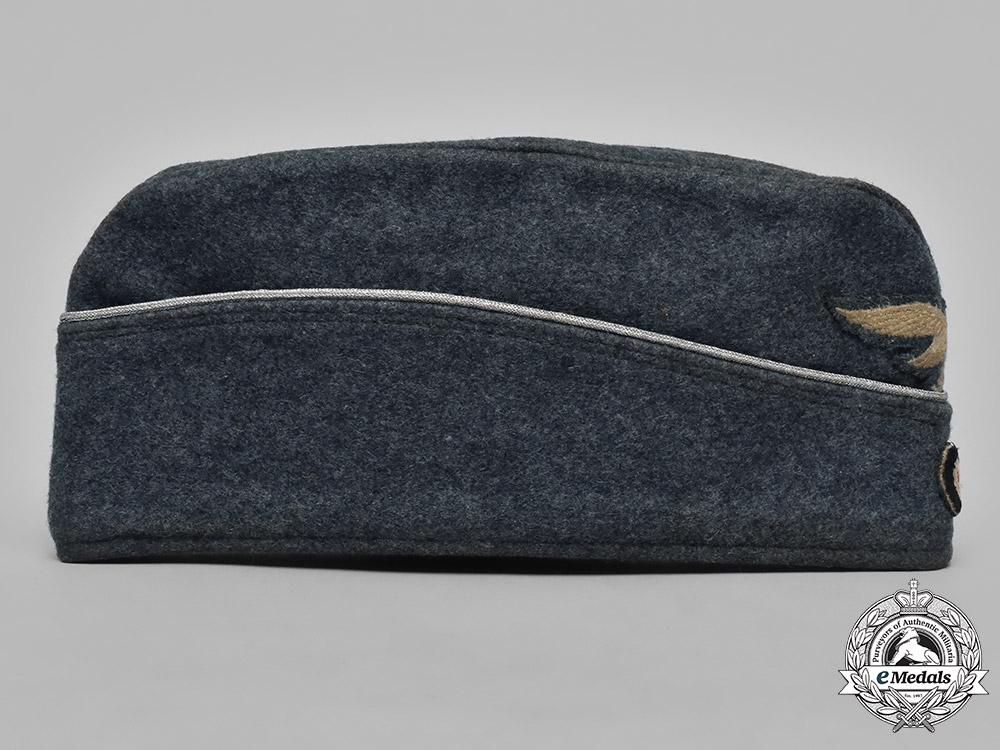 Germany, Luftwaffe. An Officer's Converted Overseas Cap, by L. Püttmann