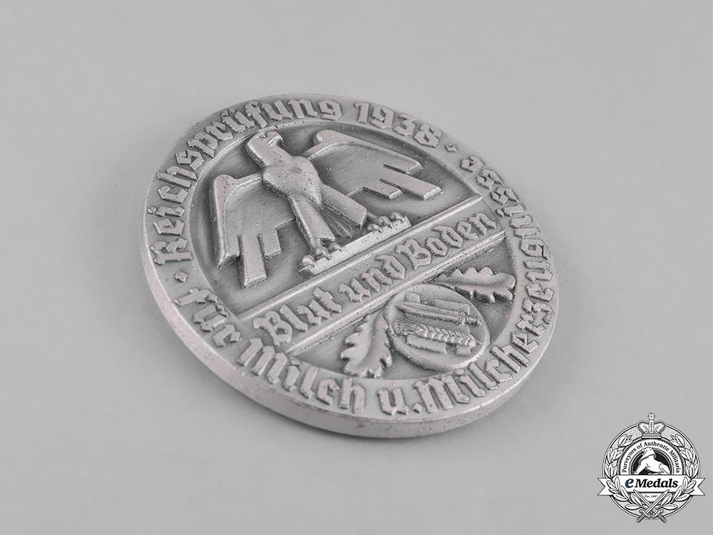 Germany, RNST. A 1938 Reichsnährstand (RNST) Milk Production Merit Badge