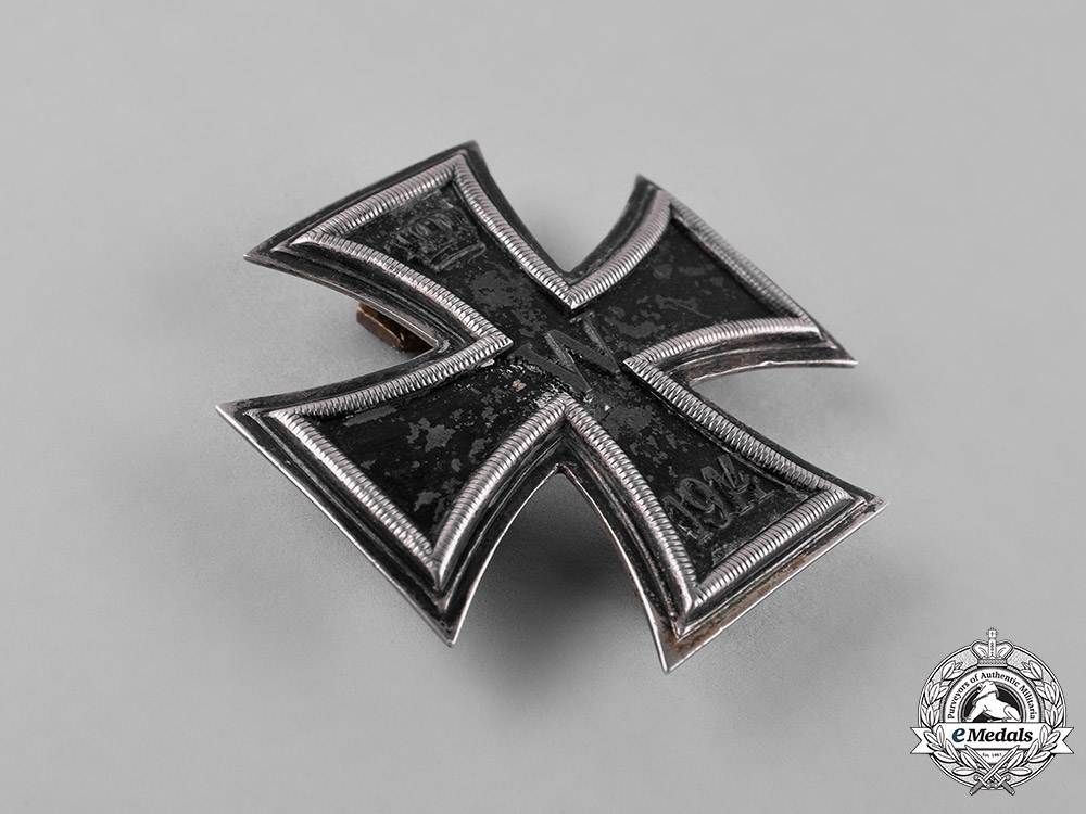 Germany, Imperial. A Silver 1914 Iron Cross, I Class, Dual Screwback