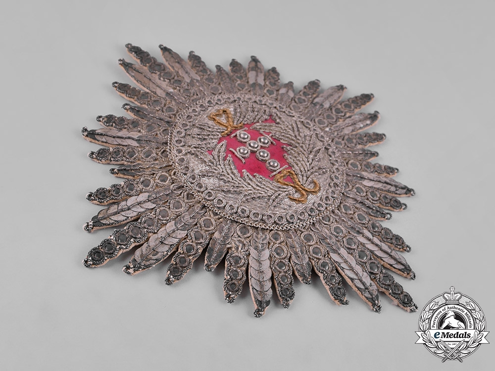 Denmark, Kingdom. An Order of the Elephant, I Class Embroidered Star, c.1800