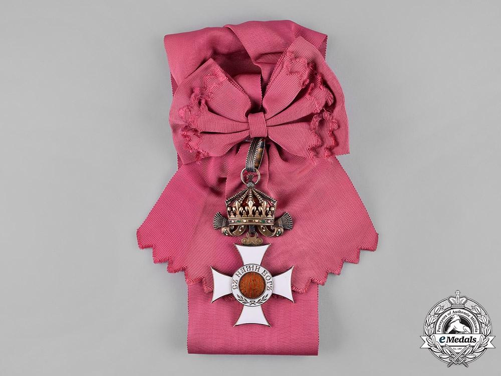 Bulgaria, Kingdom. An Order of St. Alexander, I Class Grand Cross, c.1910