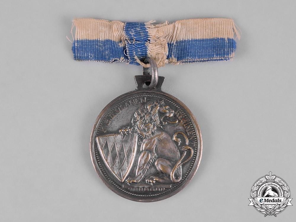 Bavaria, Kingdom. A 2nd Royal Bavarian Uhlan Regiment 50 Year Anniversary Medal, c.1913