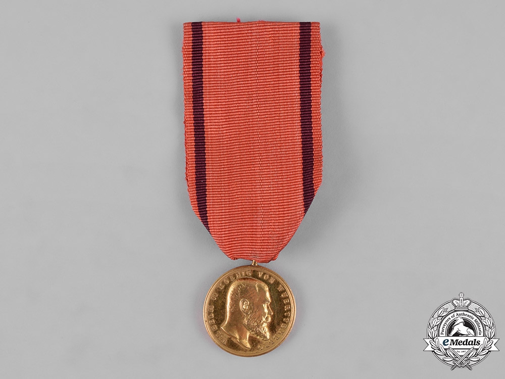 Württemberg, Kingdom. An Art and Science Medal, Reduced Size, c.1900