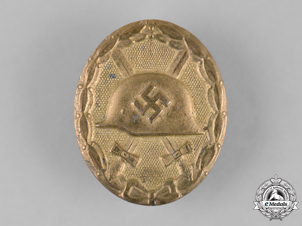 Germany, Wehrmacht. A Gold Grade Wound Badge