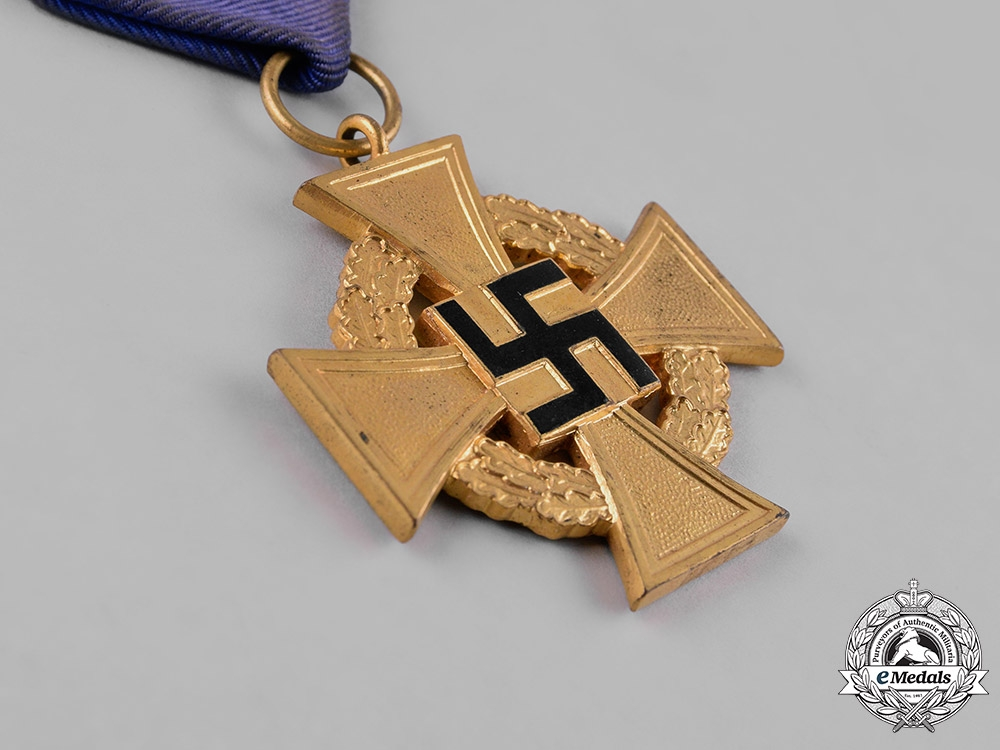 Germany, Third Reich. A Pair of Civil Service Faithful Service Crosses