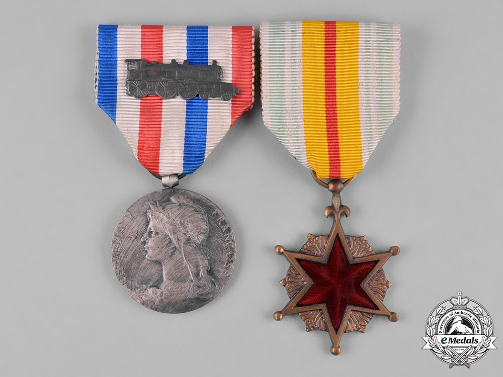France, III Republic. Two Medals & Decorations