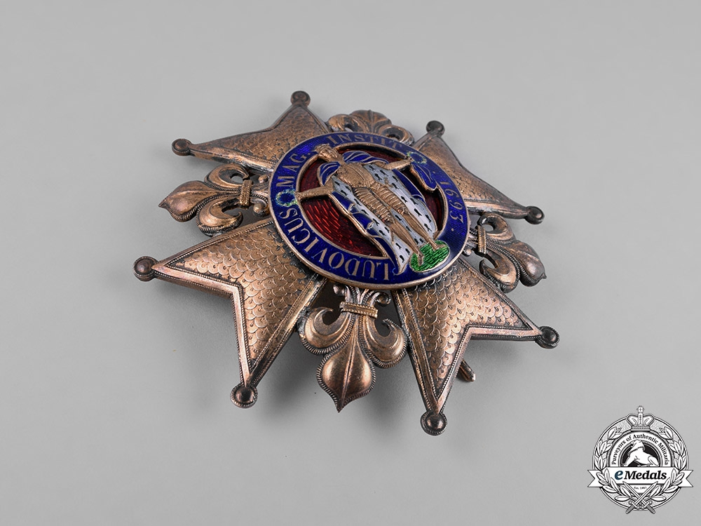 France, II Empire. A Royal Order of St. Louis, I Class Grand Cross Star, c.1850