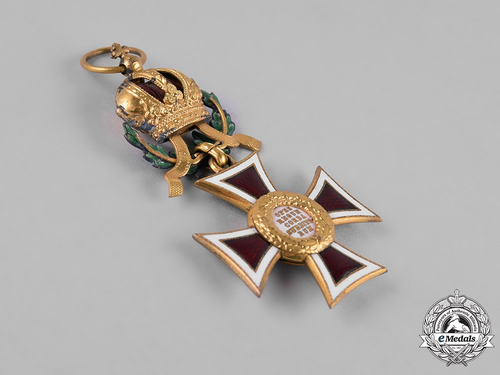 Austria, Imperial. A Leopold Order, Knight's Cross with War Decoration, Multiple Award Bar, & Swords, by C.F. Rothe, c.1917