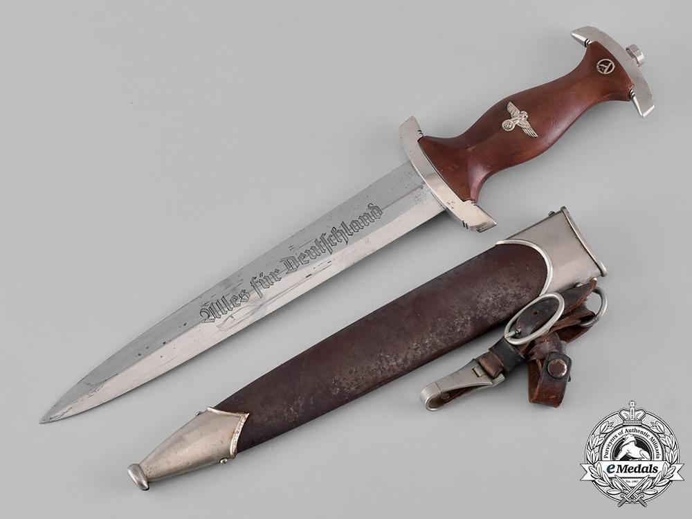 Germany, SA. A Gruppe Nordsee Dagger, with Hanger, by Bontgen & Sabin