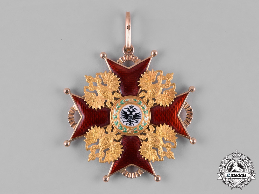 Russia, Imperial. An Order of Saint Stanislaus, I Class, by Eduard, c.1905