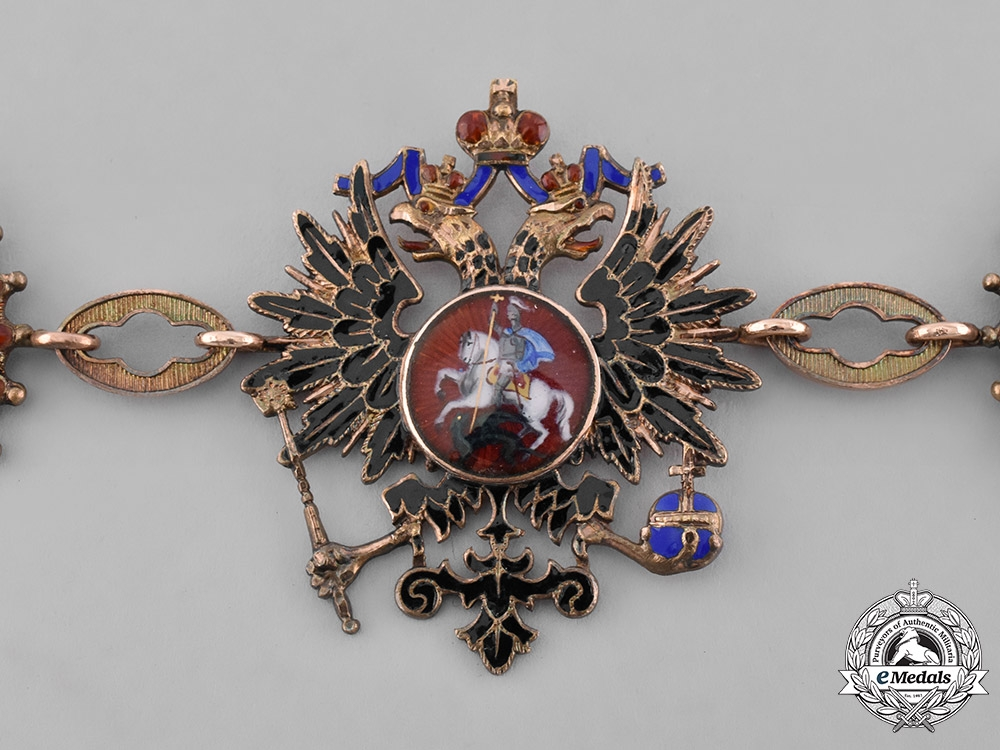 Russia, Imperial. An Order of Saint Andrew the First-Called, by Keibel