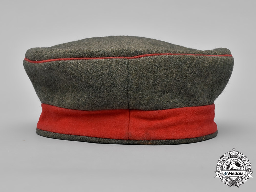 Germany, Imperial. A M1907 Prussian Infantry NCO Field Cap, c.1916