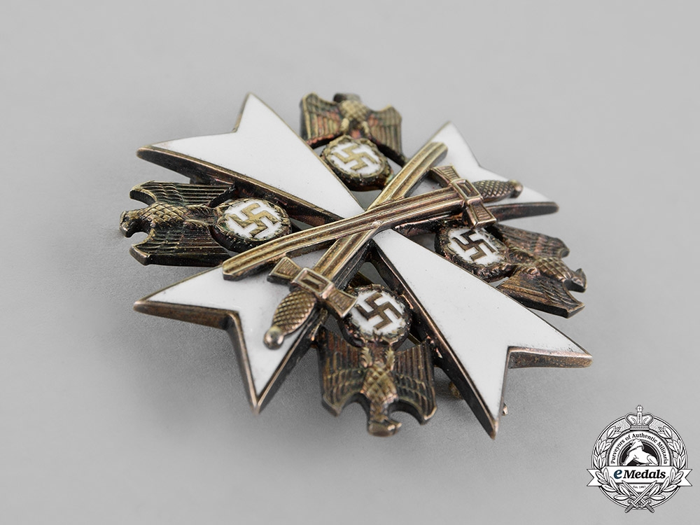 Germany. An Order of the German Eagle Second Class with Swords by Gebrüder Godet & Co.