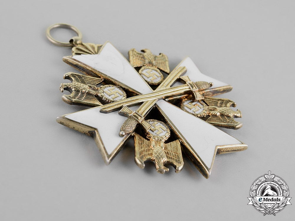 Germany. An Order of the German Eagle, with Swords, Grand Cross, by Gebrüder Godet & Co.