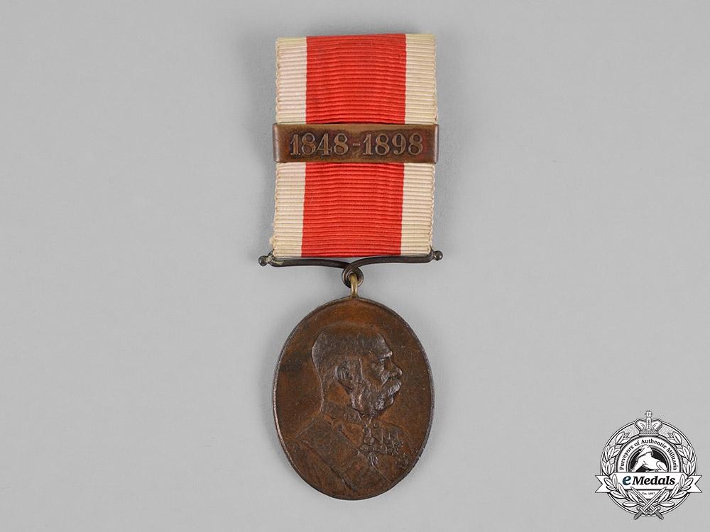 Austria, Empire. A Commemorative Court Officials Medal in Bronze, c.1889