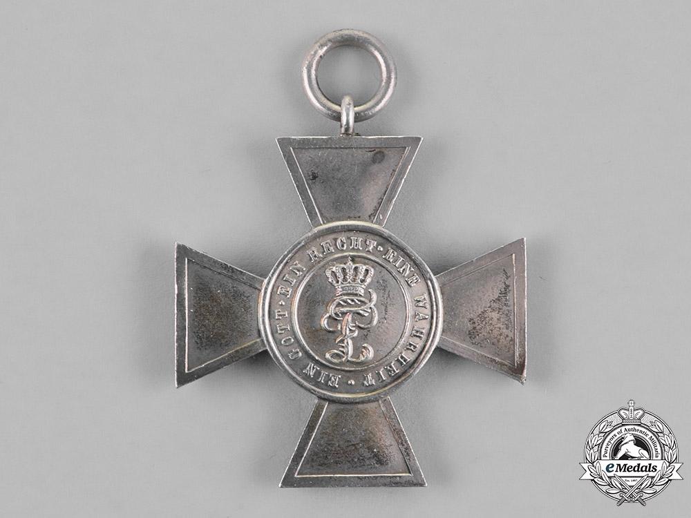 Oldenburg. A House & Merit Order of Duke Peter Frederick Louis Honour Cross, Second Class