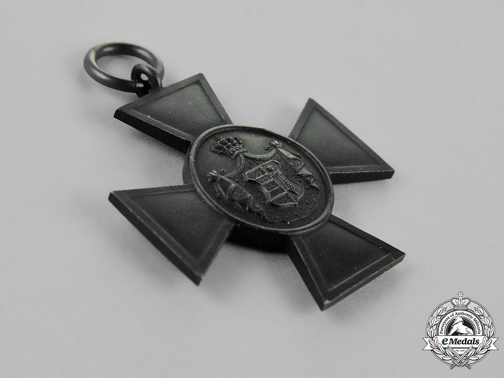 Oldenburg. A House & Merit Order of Duke Peter Frederick Louis Honour Cross, Third Class